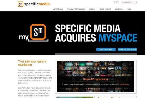 News Corp. продала портал MySpace компании Specific Media за $35 млн