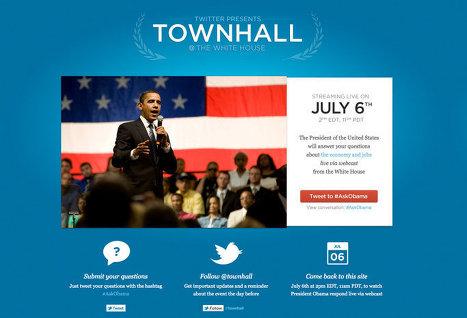Барак Обама ответит на вопросы пользователей Twitter 6 июля