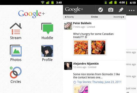 Android-клиент для Google+ стал доступен российским пользователям