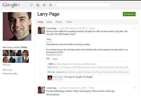 Соцсеть Google+ введет верификацию аккаунтов известных людей