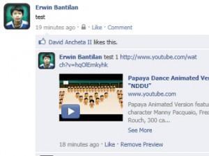 В Facebook появились видеокомментарии