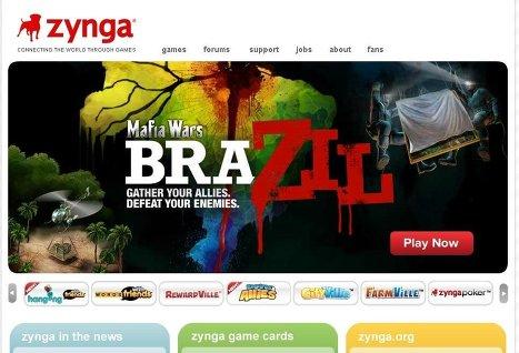 Партнерство с Zynga принесет соцсети Facebook в 2011 году $500 млн
