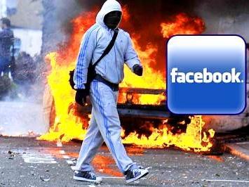 Очередной арест в Англии за 20 минут «беспорядков в Facebook»
