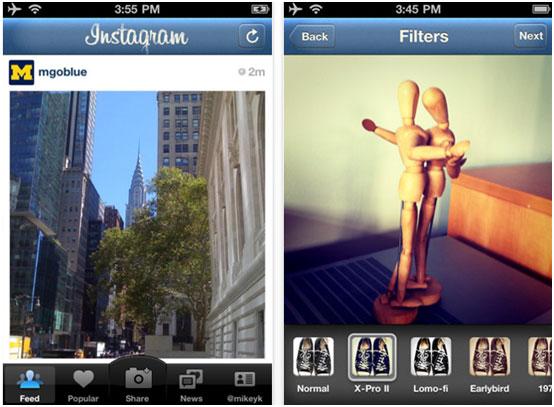 Facebook не смог купить Instagram и запускает свои фото-фильтры