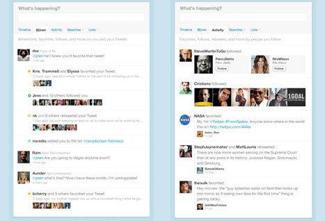 Сервис микроблогов Twitter вносит изменения в интерфейс