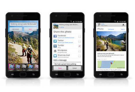 Фотохостинг Flickr выпустил официальное Android-приложение