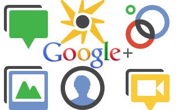 Посещаемость Google+ весь август снижалась