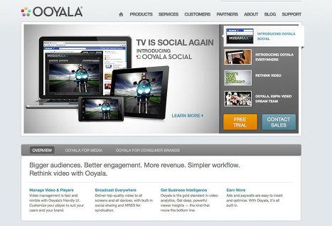 Ooyala тестирует сервис «социального» просмотра видео на Facebook