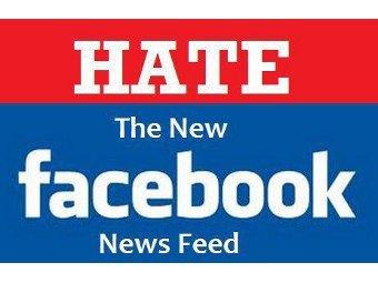 Facebook раскритиковали за новую новостную ленту