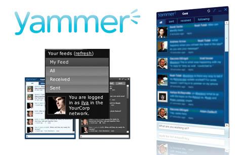 Корпоративная соцсеть Yammer получила $17 млн инвестиций
