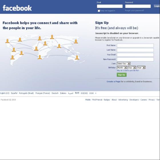 «Доверенные друзья» помогут восстановить пароль от Facebook