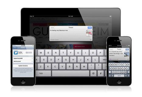 Запуск iOS 5 увеличил число ежедневных регистраций в Twitter