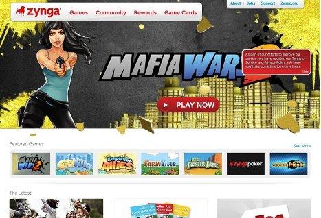 Zynga может разместить свои акции на бирже в конце ноября