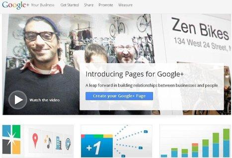 Google+ опубликовала гид по созданию и продвижению брендовых страниц