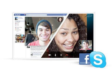 Skype разрешил пользователям совершать видеозвонки друзьям из Facebook