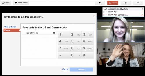 Google+ разрешит пользователям совершать телефонные звонки