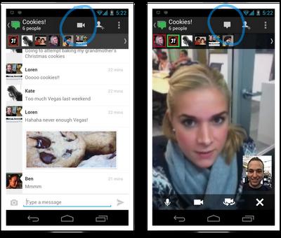 Google+ расширил функционал сервиса «Видеовстречи»