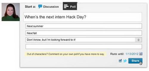 LinkedIn запускает сервис опросов в группах