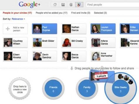 В Google+ можно блокировать нежелательных пользователей