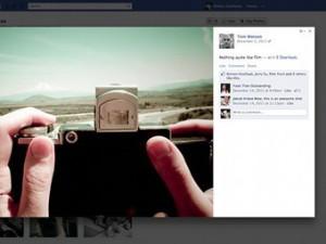 Facebook «позаимствовал» у Google+ интерфейс просмотра изображений