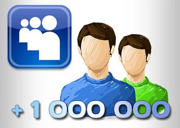 Возрождающаяся MySpace зарегистрировала миллион новых посетителей