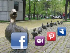 Facebook Timeline помогает увеличить посещаемость другим социальным медиа