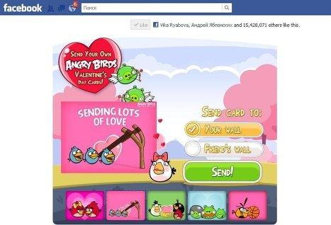 Angry Birds запущена на Facebook раньше намеченного срока