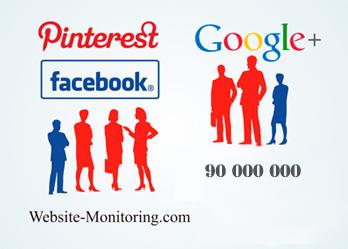 Женщины доминируют в Facebook и Pinterest, а мужчины – в Google+
