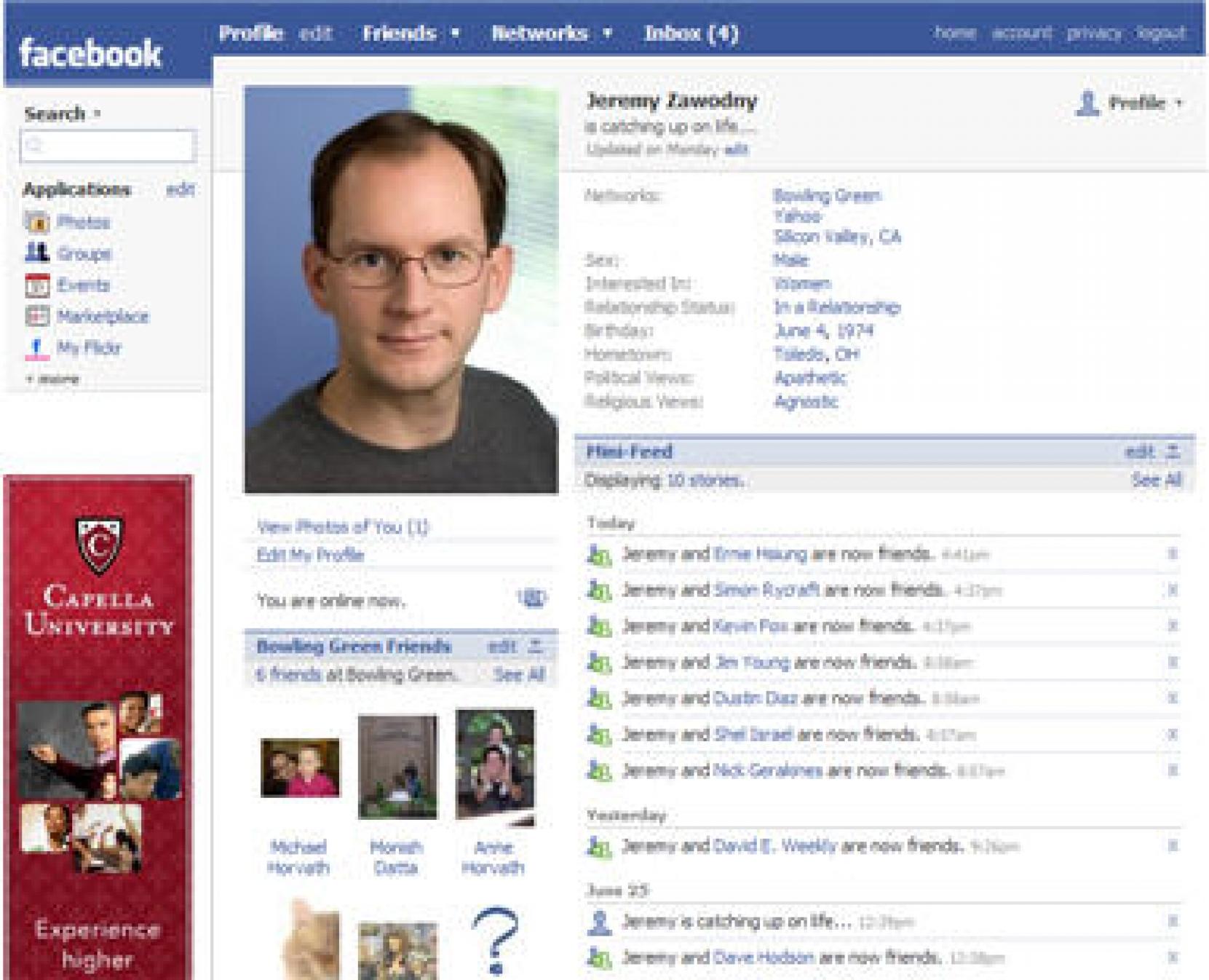 Facebook готовит новый формат рекламы