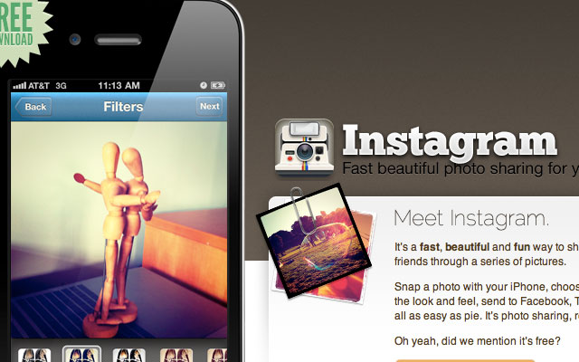 Facebook приобрел Instagram с переплатой