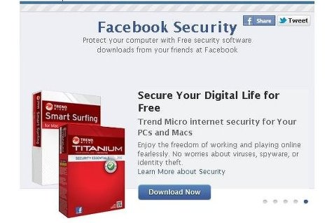 Пользователи Facebook смогут скачать антивирусное ПО с сайта соцсети