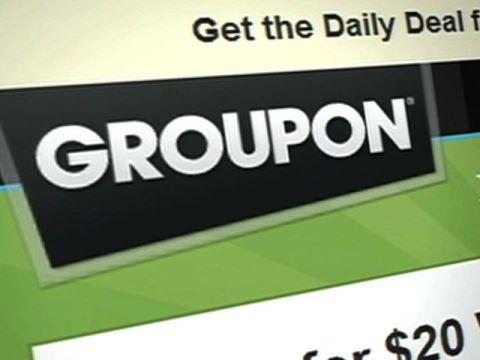 За полгода стоимость компании Groupon снизилась на 50%