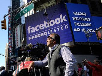 СМИ назвали причины падения акций Facebook