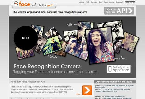 Facebook ведет переговоры о покупке сервиса распознавания лиц Face.com