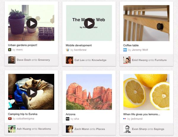 Pinterest расширил список сайтов, контент которых публикуется с атрибуцией