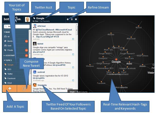 Bottlenose — лучший поиск для социального веб