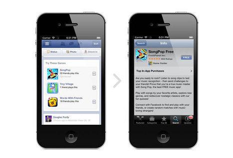 Facebook запускает сервис для продвижения мобильных приложений