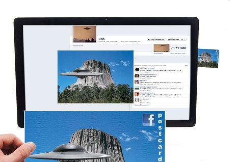 Facebook тестирует функцию превращения фотографий в реальные открытки
