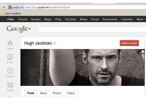 Google+ начала предоставлять пользователям именные адреса страниц