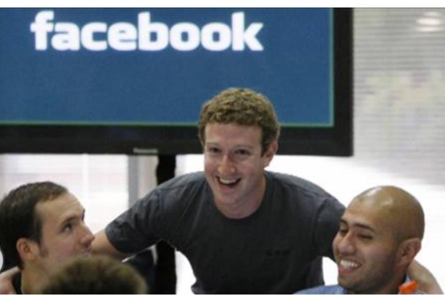 Акции Facebook потеряли в цене 5%