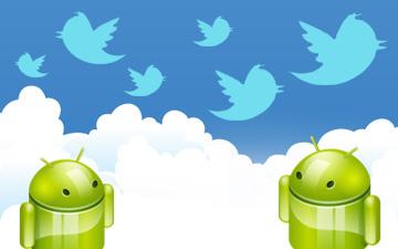 Пользователи Android стали чаще использоватьTwitter