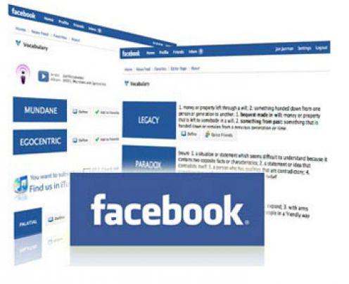 Дизайн facebook в 2008 году
