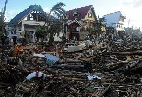 Пользователи Facebook могут пожертвовать деньги для пострадавших на Филиппинах
