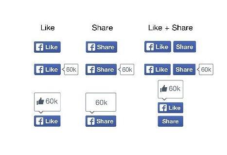 Facebook обновила дизайн кнопок