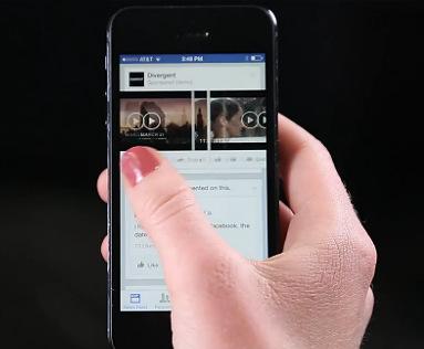 Facebook запускает видеорекламу