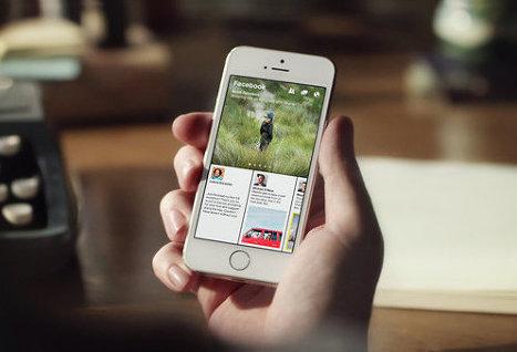Facebook показал новое приложение для чтения новостей
