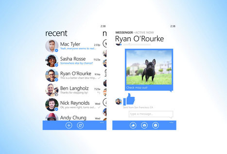 Соцсеть Facebook выпустила свое мобильное приложение Messenger