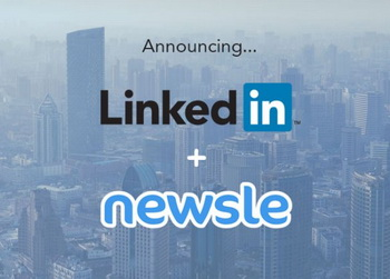 LinkedIn купила сервис Newsle