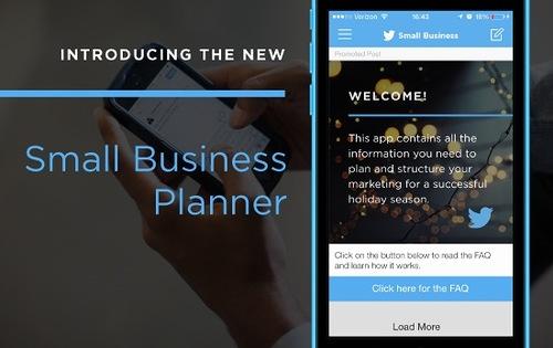Twitter объявил о запуске нового приложения для малого и среднего бизнеса Small Business Planner