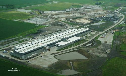 Компания Facebook объявила об открытии дата-центра в городе Алтуна, штат Айова, США